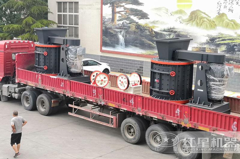 立式磨砂机设备发货