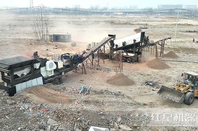 小型建筑垃圾制砂厂