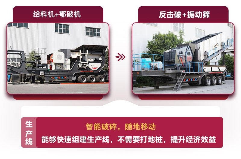 移动式日产3000方砂石生产线