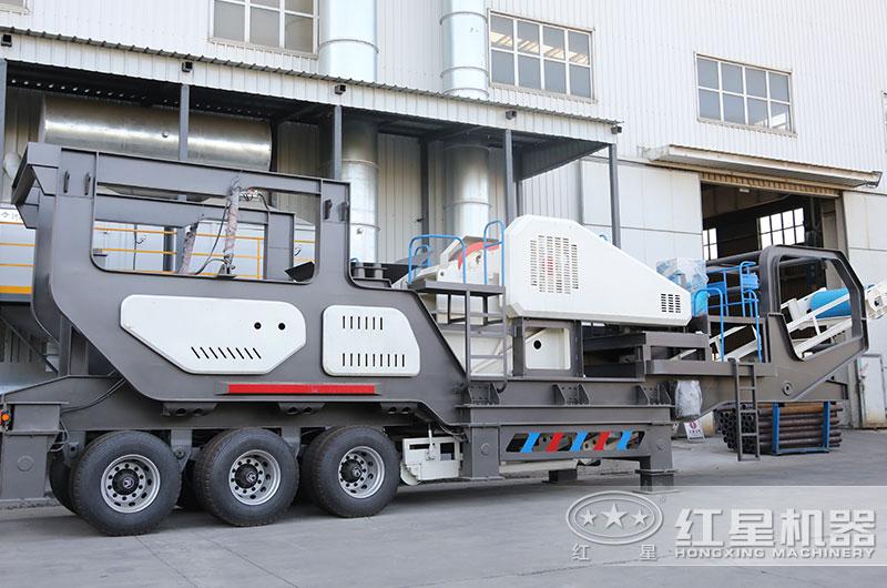 移动式混凝土再生料粉碎机设备