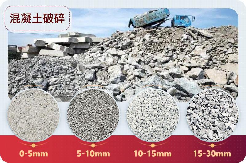 混凝土再生料用途
