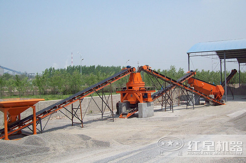 时产15吨制沙生产线
