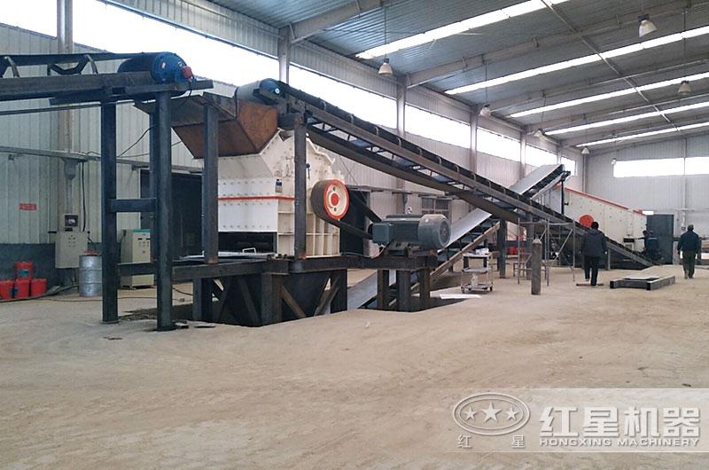 时产30吨制沙生产线