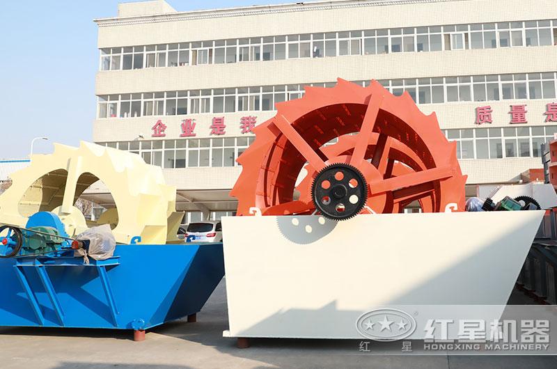 轮斗式洗沙机设备图片