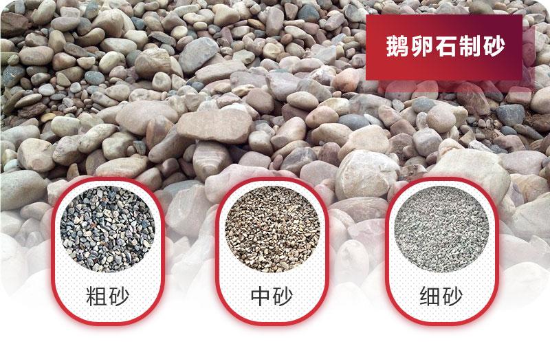 鹅卵石碎成沙子