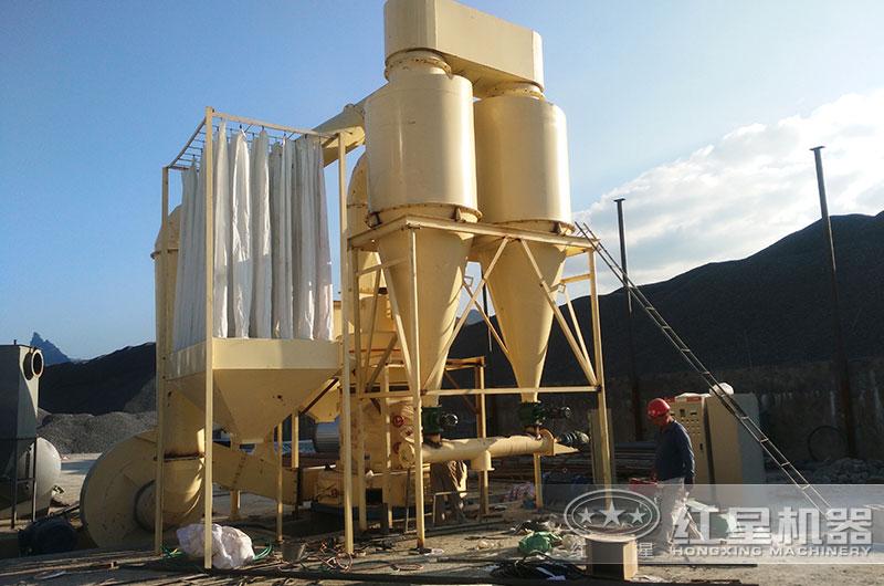 江西500t/h滑石磨粉生产线