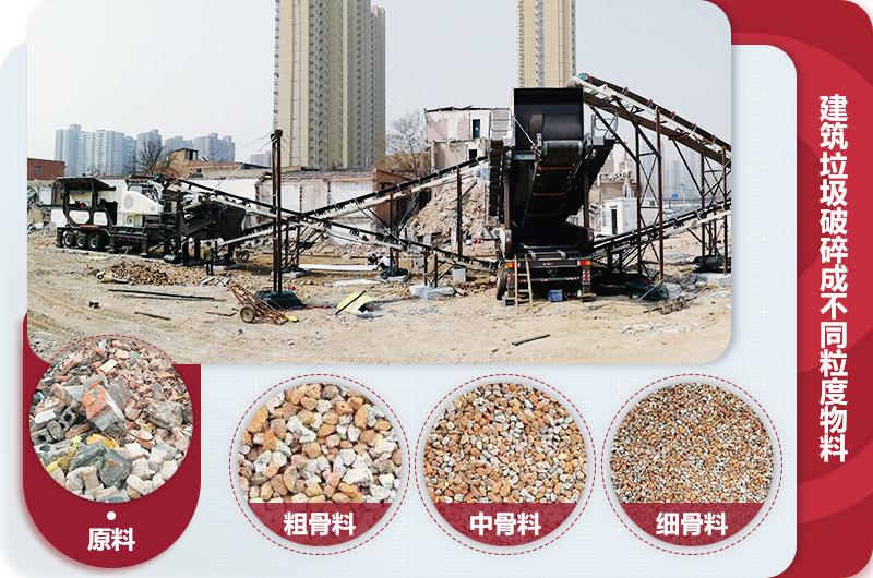 建筑垃圾破碎生产线