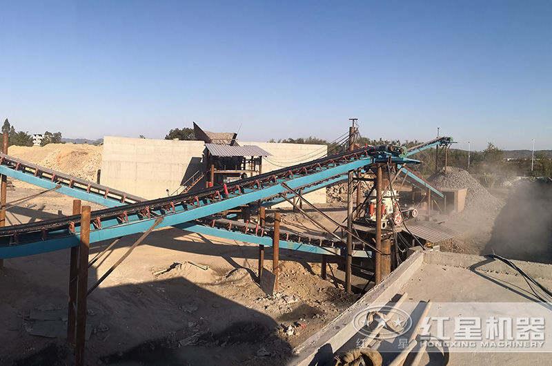 四川广安700t/h湿法制砂生产线