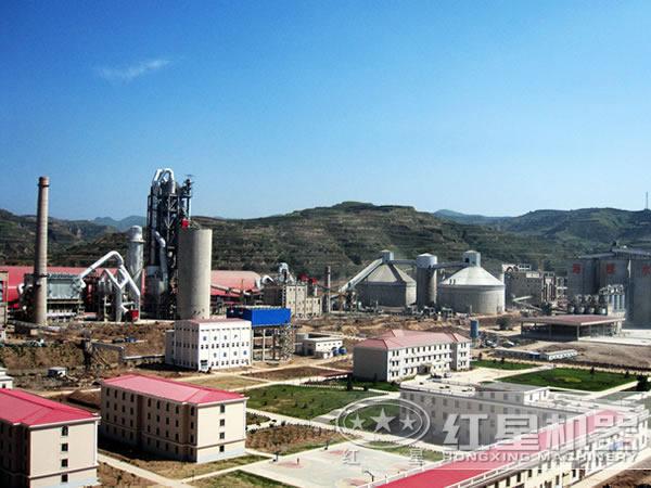 选矿生产线实拍图片