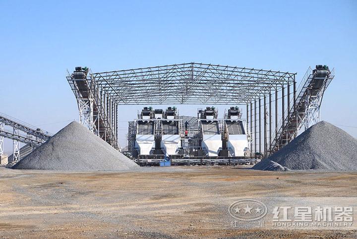 砂石石料生产线成品