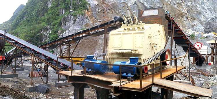 湖北时产600吨石头破碎生产线
