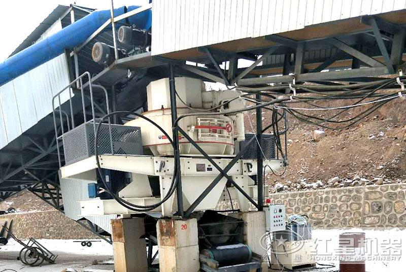 煤矸石制砂线的制砂机