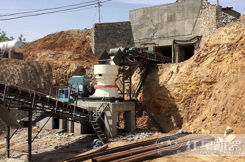 砂石厂(单缸圆锥破碎机)