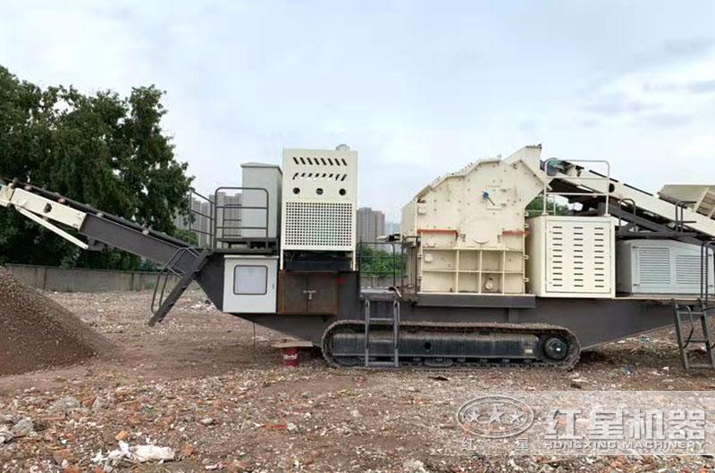 浙江客户小型建筑垃圾处理厂