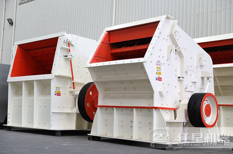 砂石料生产线全套设备:反击式破碎机