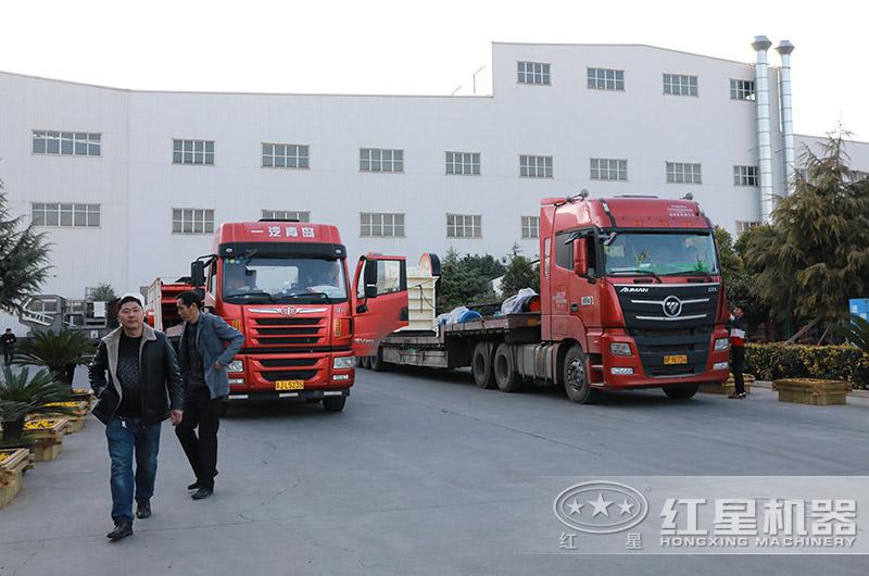 砂石料生产线全套设备发货