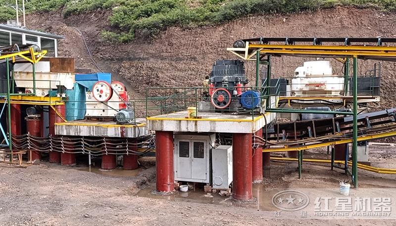 花岗岩石料生产线设备
