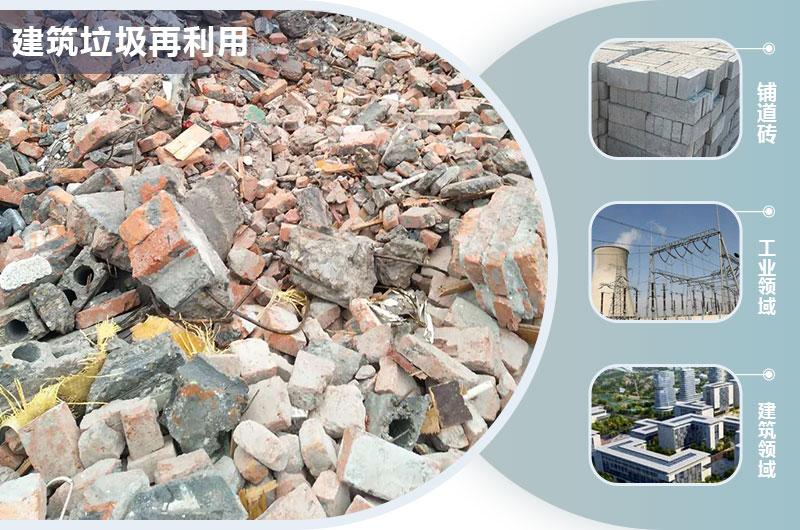 建筑垃圾处理再利用领域