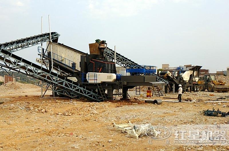 河南许昌时产100吨建筑垃圾处理厂