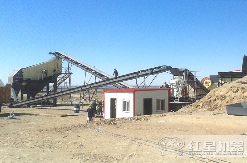 小型环保石子加工厂图片