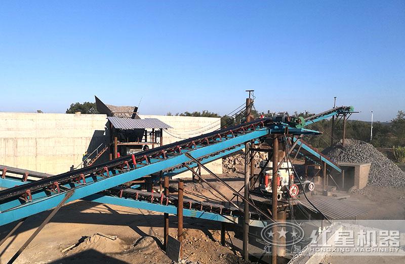 矿石开采与加工现场
