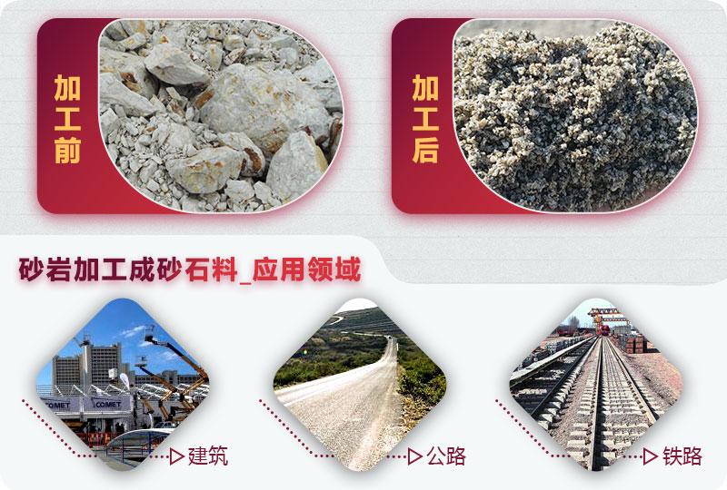 砂岩加工成砂石料