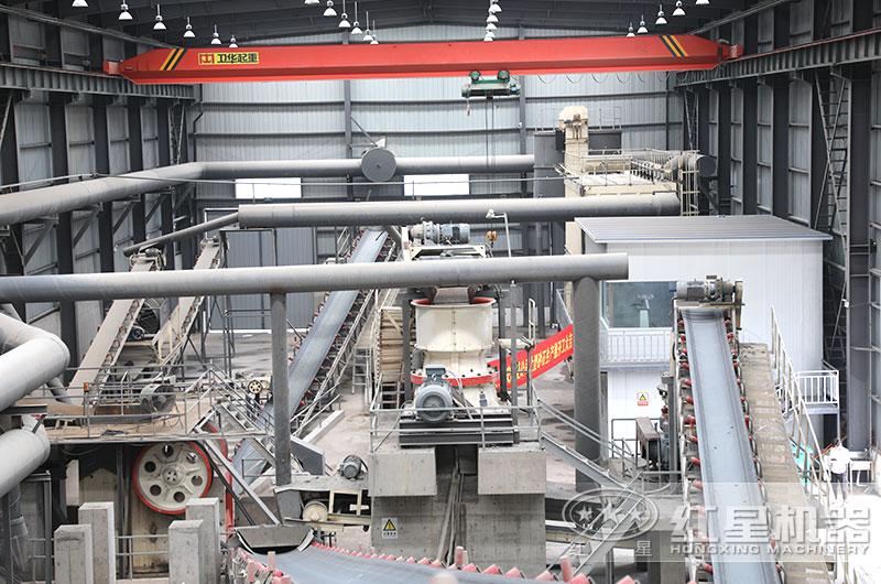 红星机器环保石料生产线