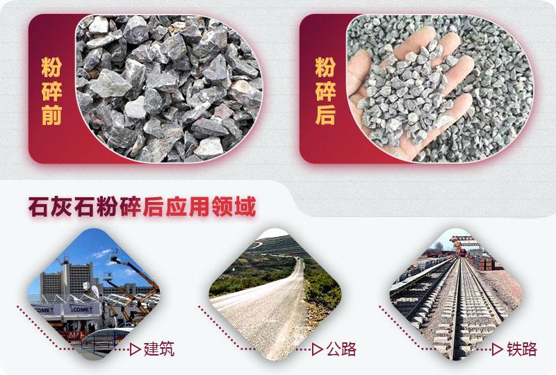 石灰石应用领域