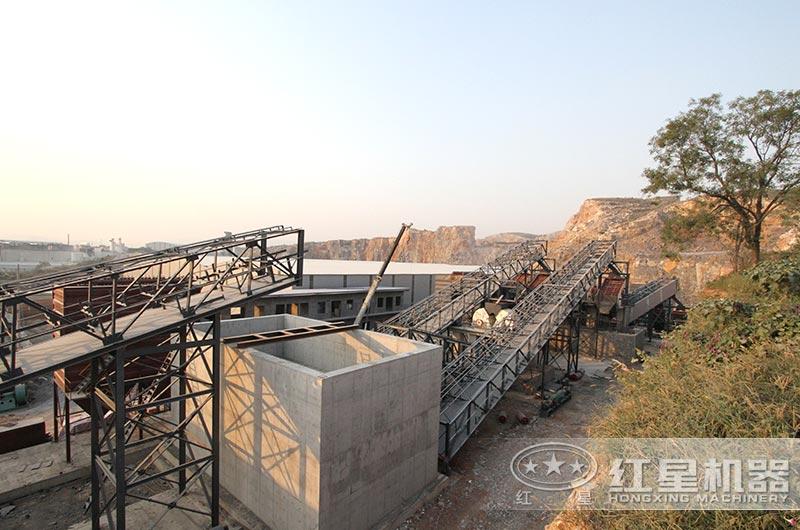 河南客户日产一万吨砂石生产线
