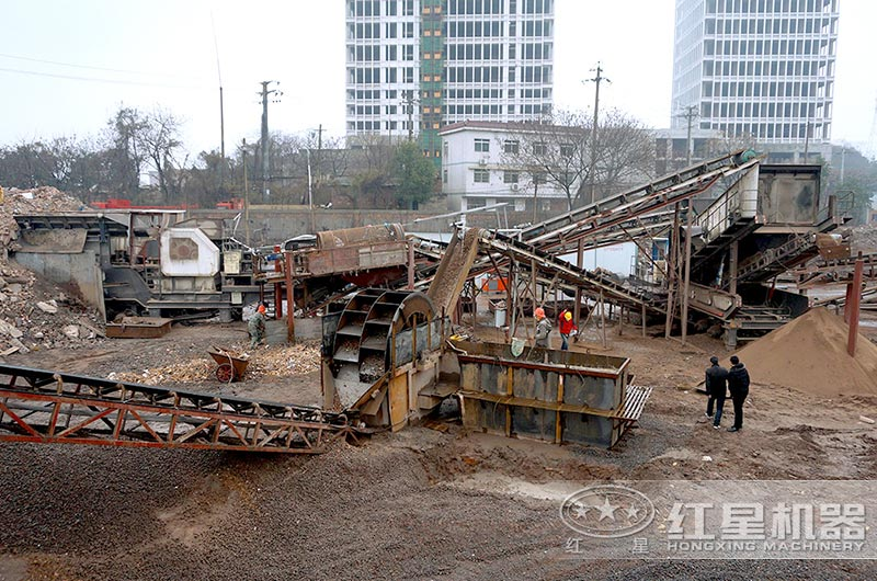 湖南客户建筑垃圾处理厂