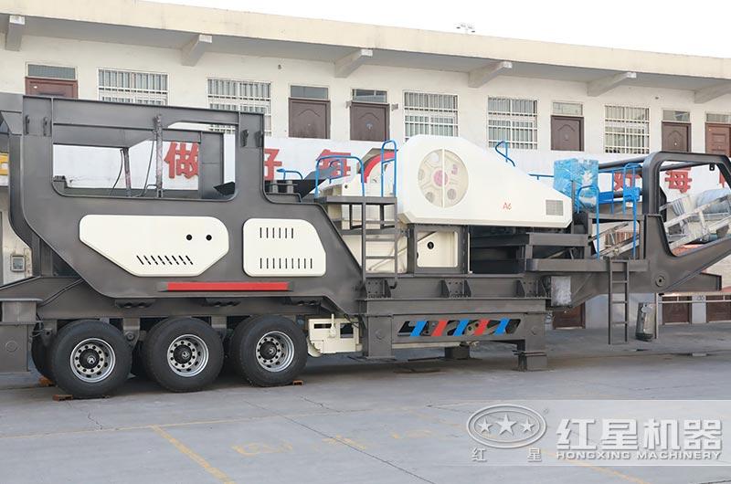 移动式粉煤机设备实拍图