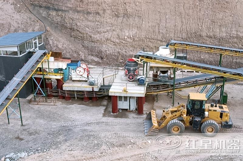 广东客户每小时100方05石子制砂生产线
