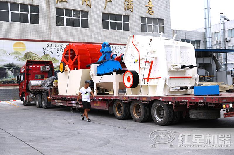 反击式制砂机设备现货直销