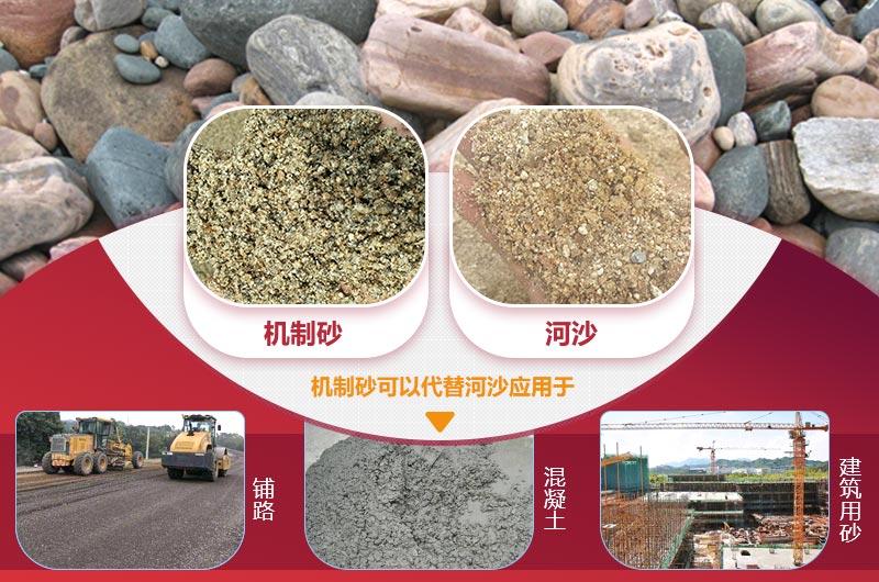 机制砂可以代替河沙