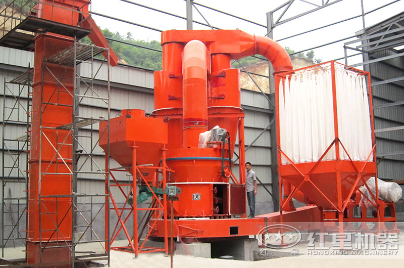 节能型磨粉机生产现场图片
