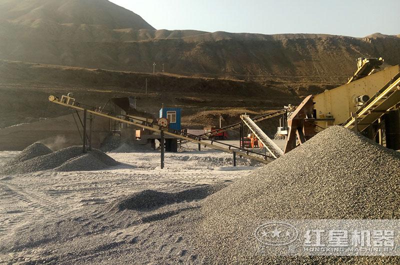 石料生产线图片