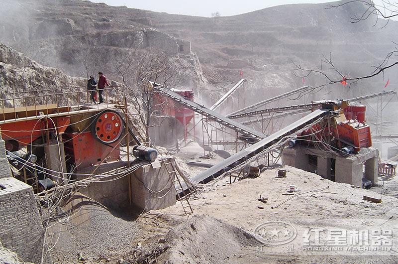 破碎石料生产线