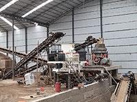 时产1000吨制砂生产线设备配置及价格