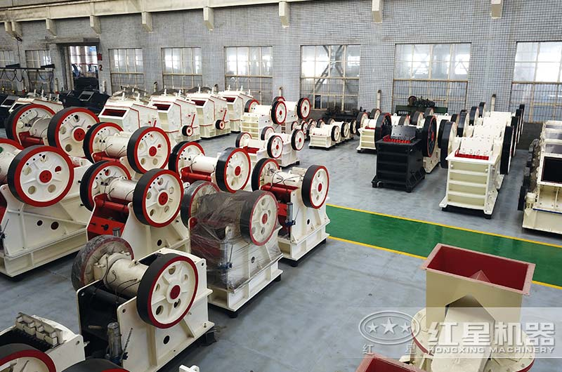 红星矿山机械设备生产车间