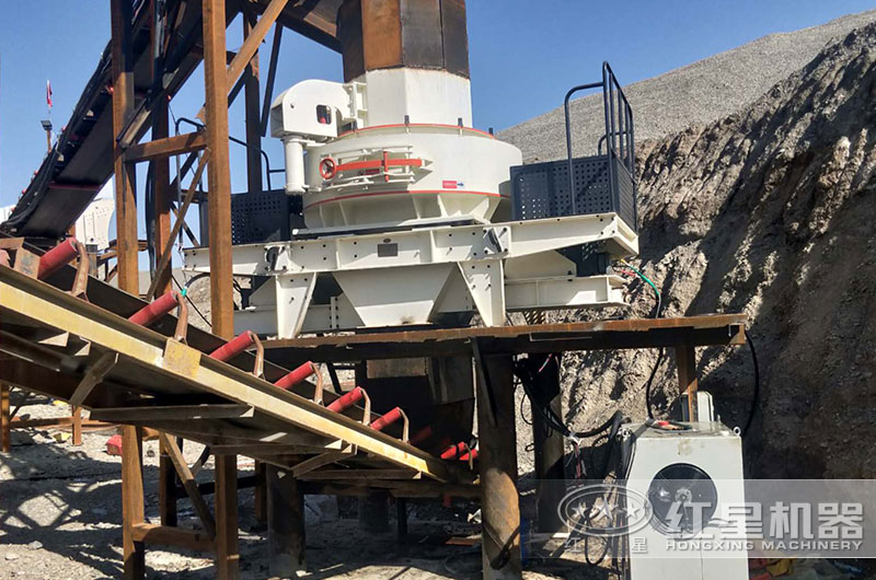 制砂机生产现场图片