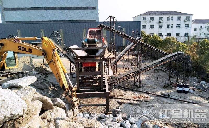 建筑垃圾制砂