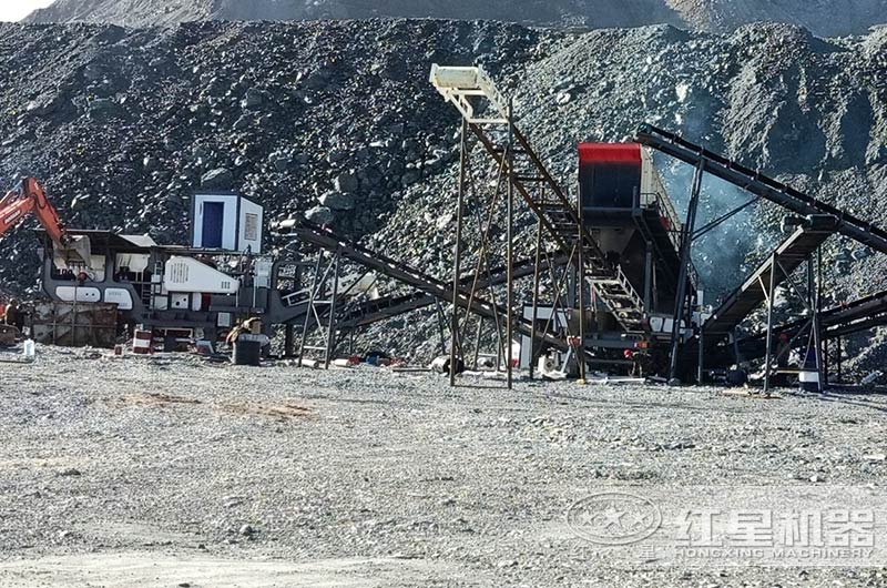 移动式尾矿砂生产线