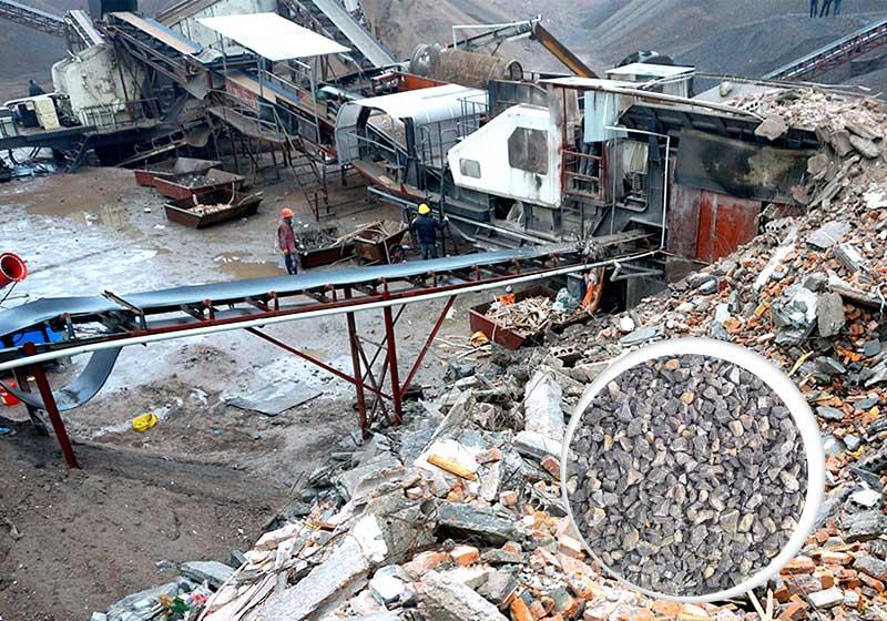 建筑垃圾机器分类处理