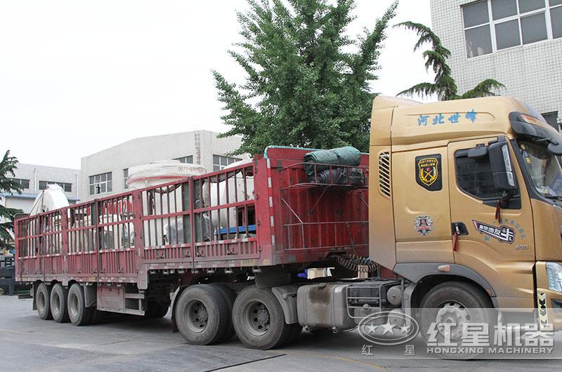 全套钾长石磨粉生产线设备发货