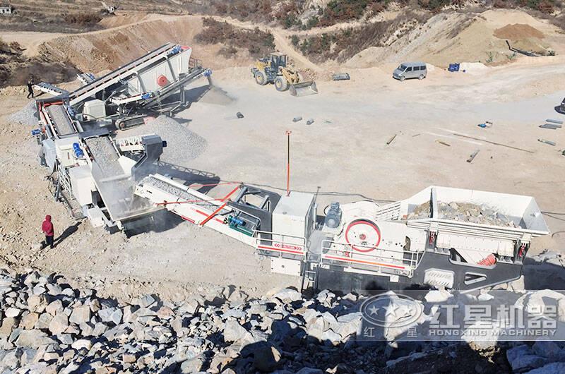 山东滕州花岗岩破碎加工项目