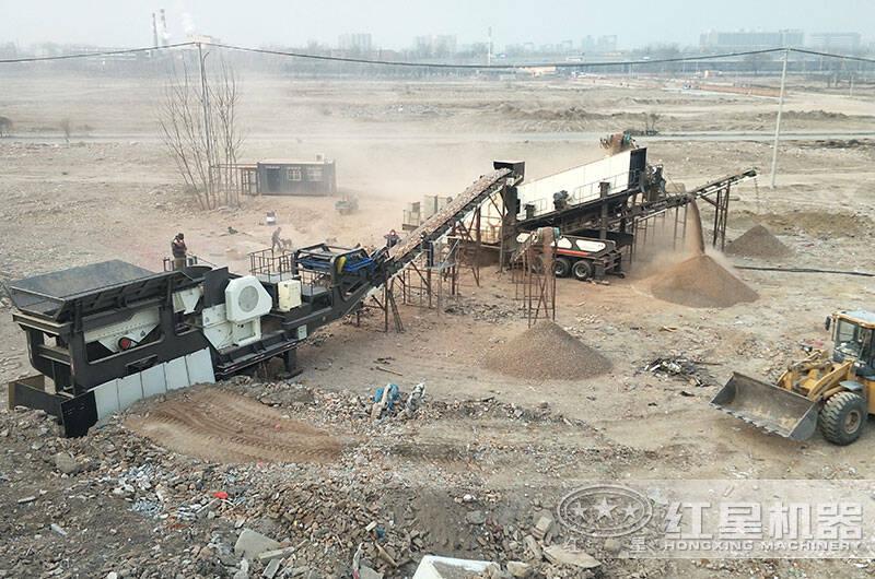 北京客户建筑垃圾处理厂