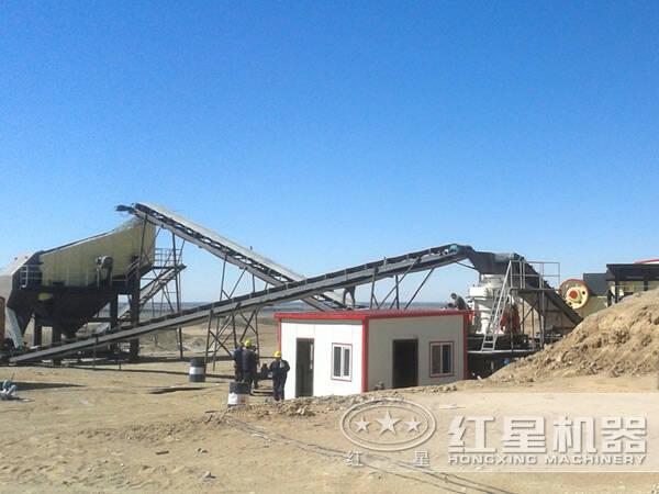 时产400-500吨石料生产线硬质物料配置