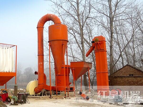 大理岩磨粉生产工艺