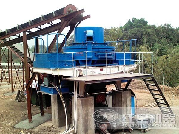 冲击式制砂机产量提升