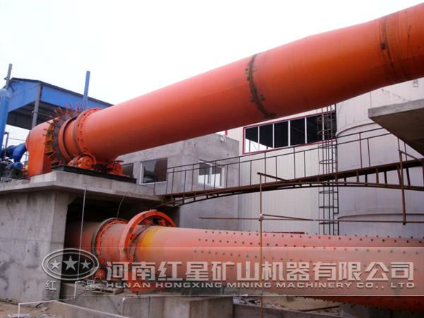 河南红星机器铁矿石回转窑厂家